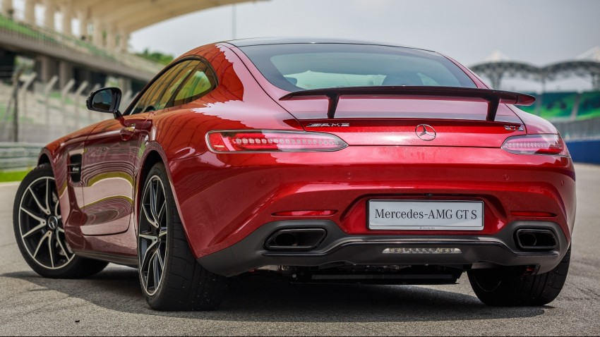 Mercedes-AMG GT S now in Malaysia from RM1.125mil Image #353770