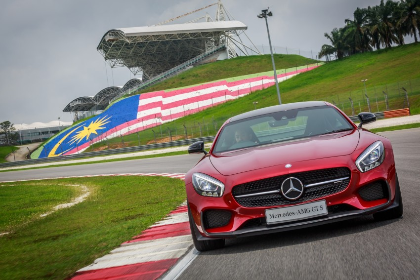 Mercedes-AMG GT S now in Malaysia from RM1.125mil Image #353771