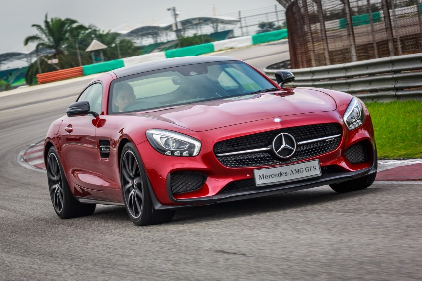 Mercedes-AMG GT S now in Malaysia from RM1.125mil Image #353773
