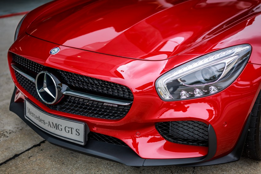 Mercedes-AMG GT S now in Malaysia from RM1.125mil Image #353774