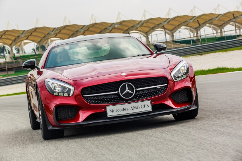 Mercedes-AMG GT S now in Malaysia from RM1.125mil Image #353761