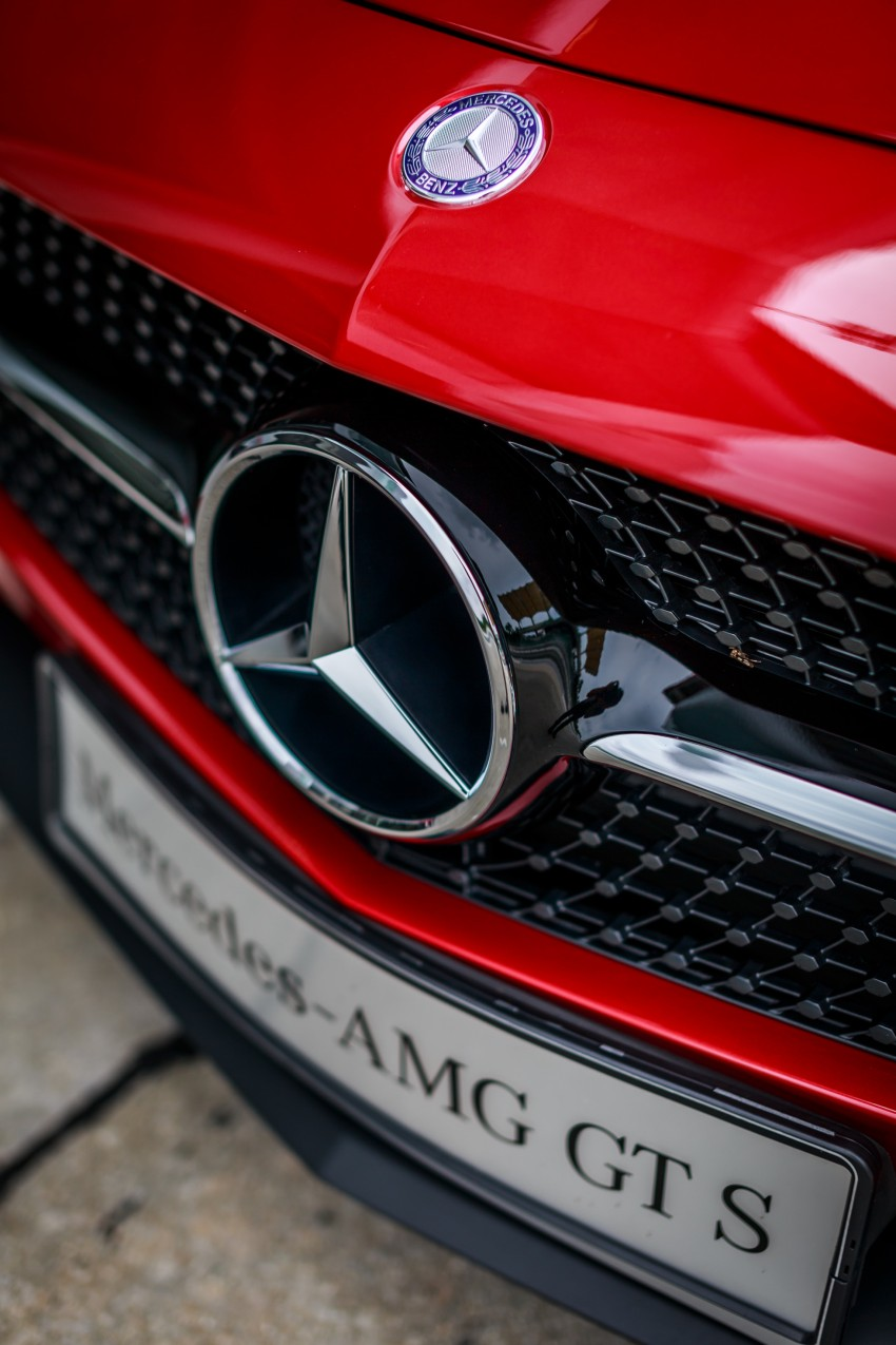 Mercedes-AMG GT S now in Malaysia from RM1.125mil Image #353778