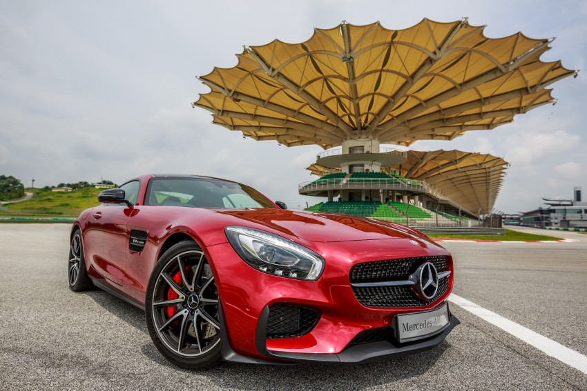 Mercedes-AMG GT S now in Malaysia from RM1.125mil Image #353762