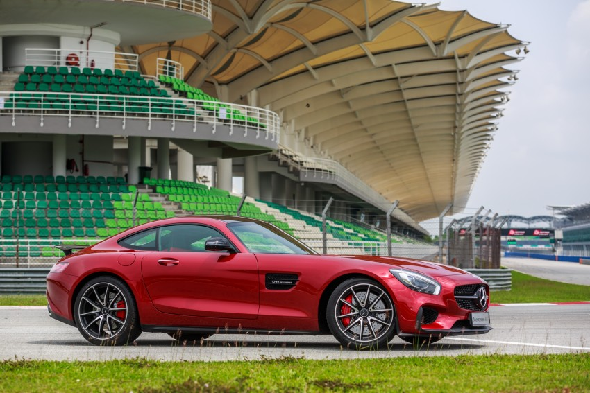 Mercedes-AMG GT S now in Malaysia from RM1.125mil Image #353764