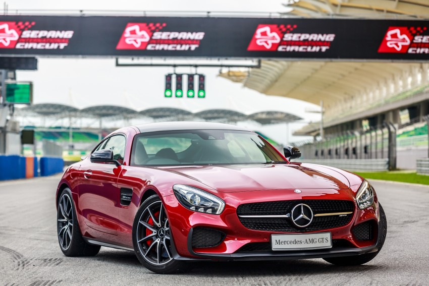 Mercedes-AMG GT S now in Malaysia from RM1.125mil Image #353766