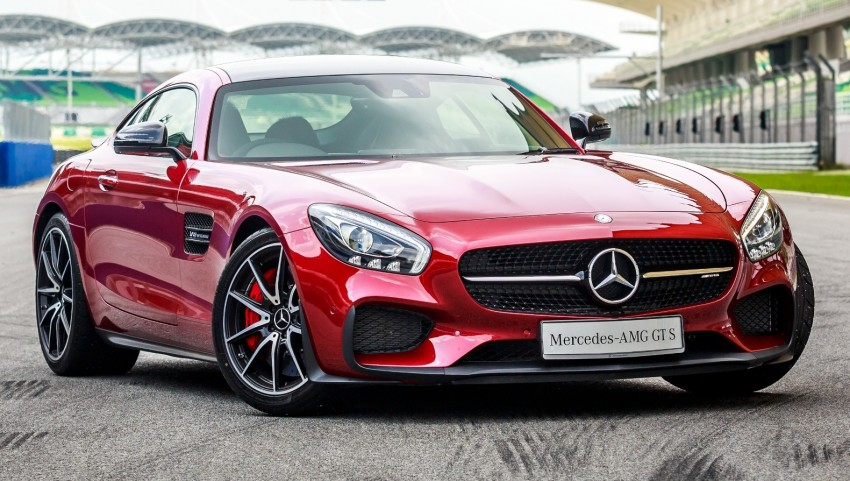Mercedes-AMG GT S now in Malaysia from RM1.125mil Image #353767