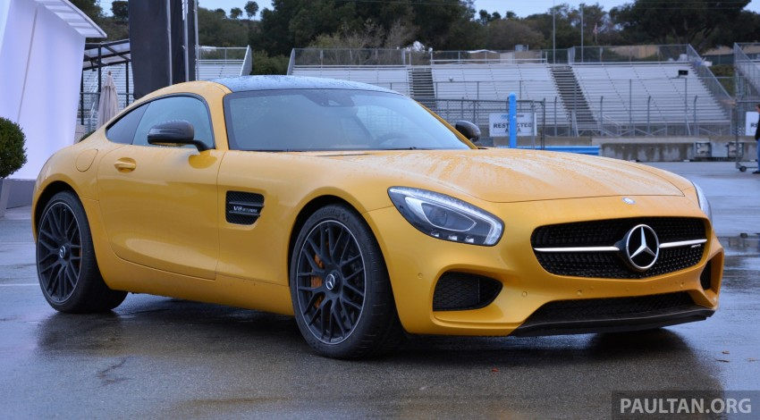 DRIVEN: Mercedes-AMG GT S at Laguna Seca Image #351532