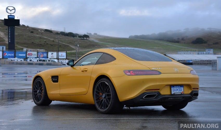 DRIVEN: Mercedes-AMG GT S at Laguna Seca Image #351533