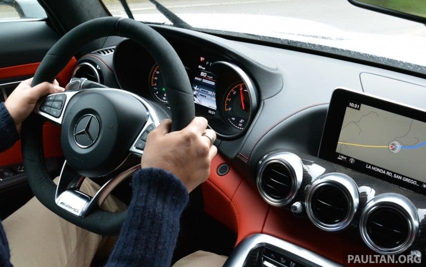 DRIVEN: Mercedes-AMG GT S at Laguna Seca Image #351554