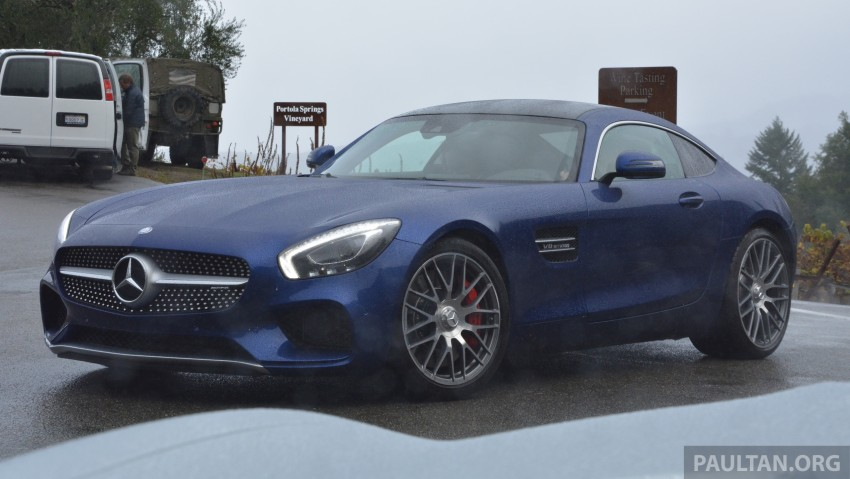 DRIVEN: Mercedes-AMG GT S at Laguna Seca Image #351556
