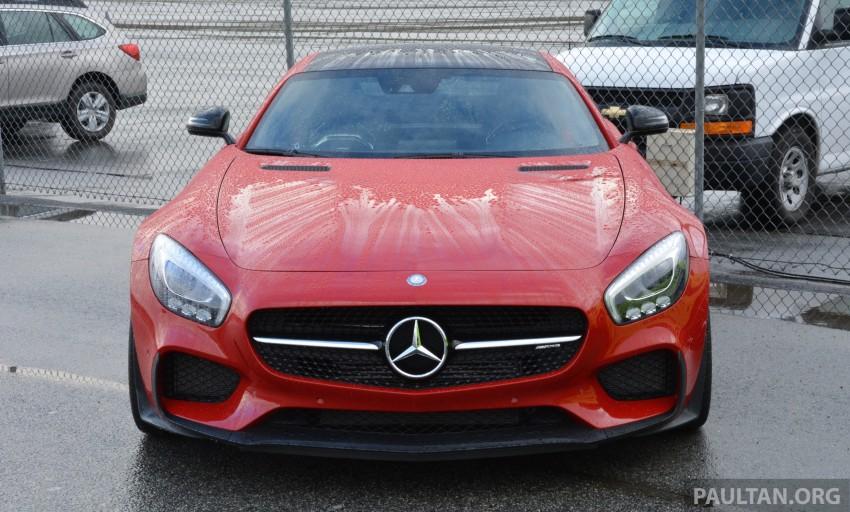 DRIVEN: Mercedes-AMG GT S at Laguna Seca Image #351571
