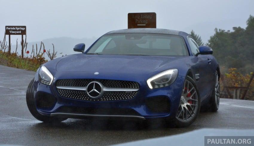 DRIVEN: Mercedes-AMG GT S at Laguna Seca Image #351608