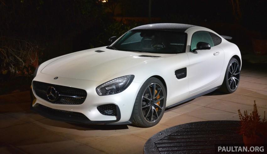 DRIVEN: Mercedes-AMG GT S at Laguna Seca Image #351620