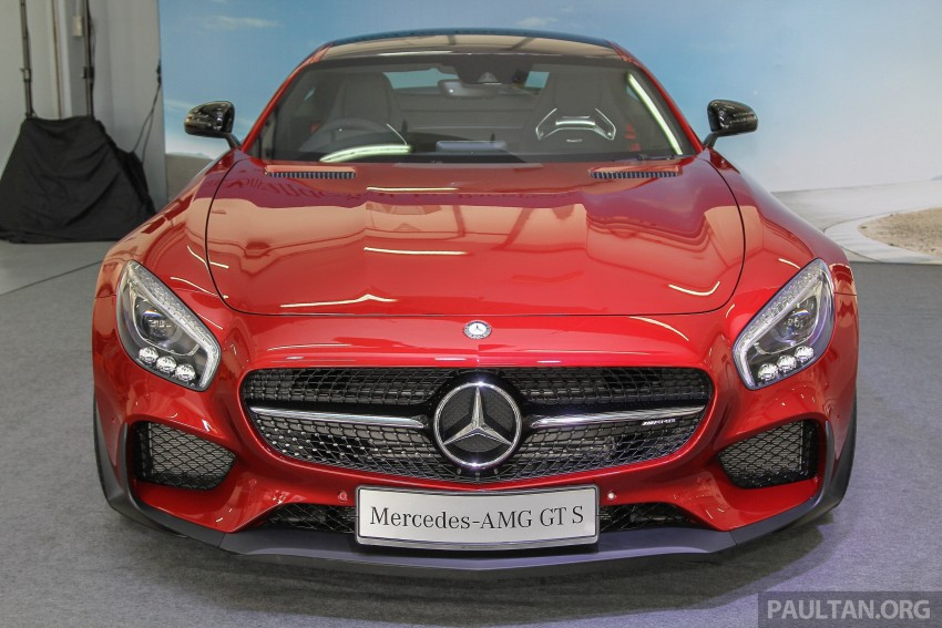 Mercedes-AMG GT S now in Malaysia from RM1.125mil Image #353835