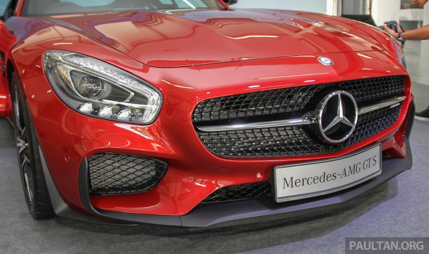 Mercedes-AMG GT S now in Malaysia from RM1.125mil Image #353837