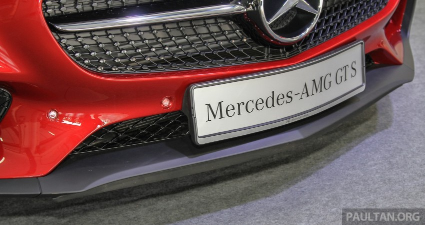 Mercedes-AMG GT S now in Malaysia from RM1.125mil Image #353841
