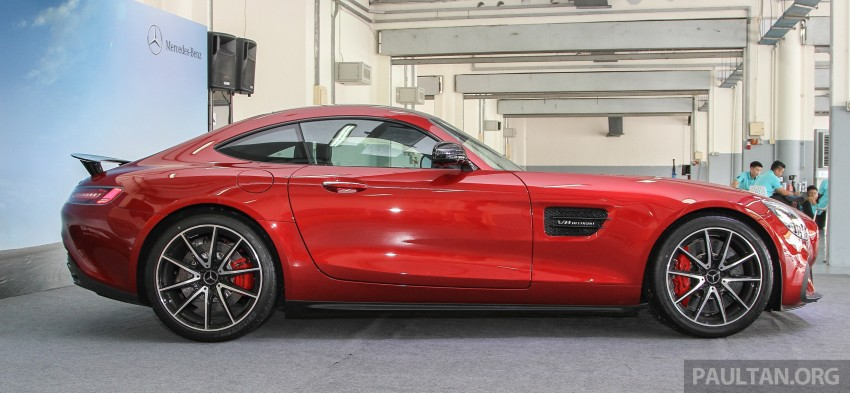Mercedes-AMG GT S now in Malaysia from RM1.125mil Image #353843