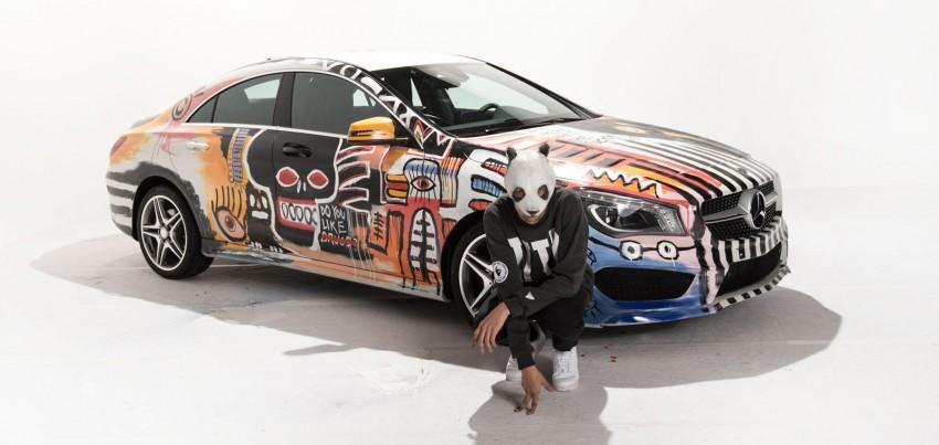 Mercedes-Benz CLA Street Style art car by rapper CRO Image #345083