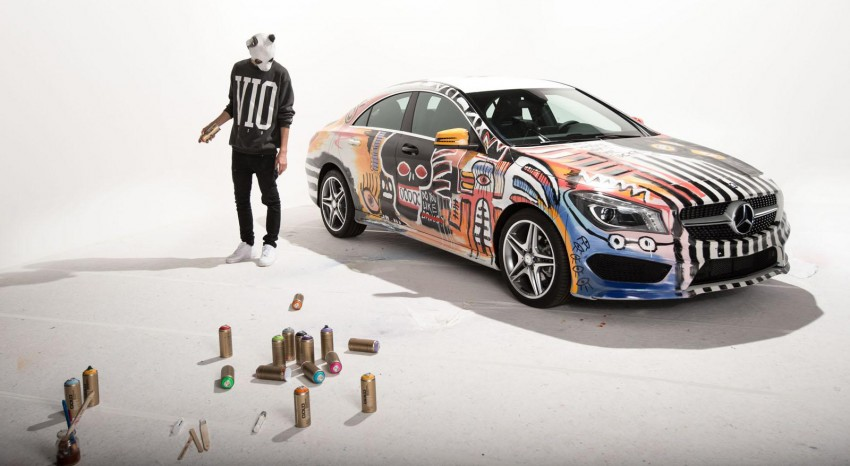 Mercedes-Benz CLA Street Style art car by rapper CRO Image #345087