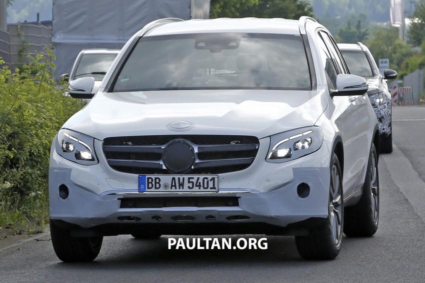 Mercedes-Benz GLC – sketch revealed, June 17 debut Image #350772