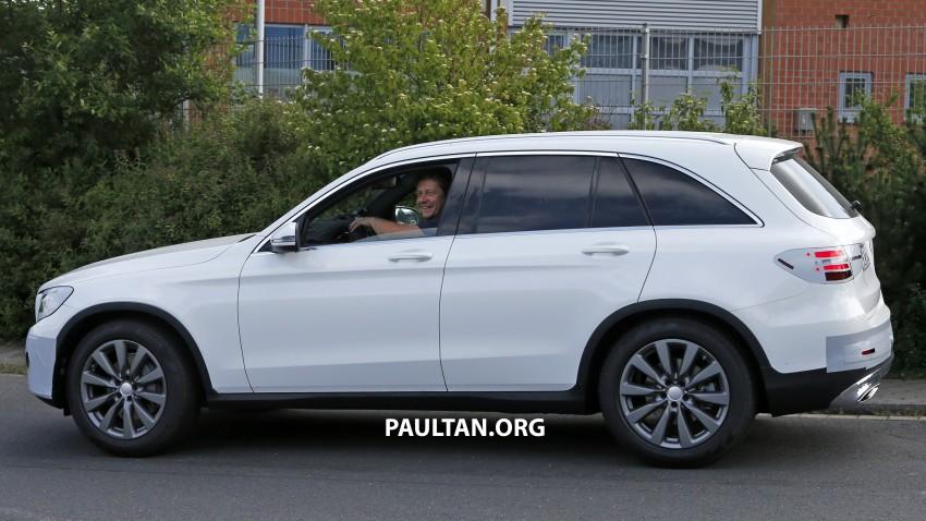 Mercedes-Benz GLC – sketch revealed, June 17 debut Image #350777