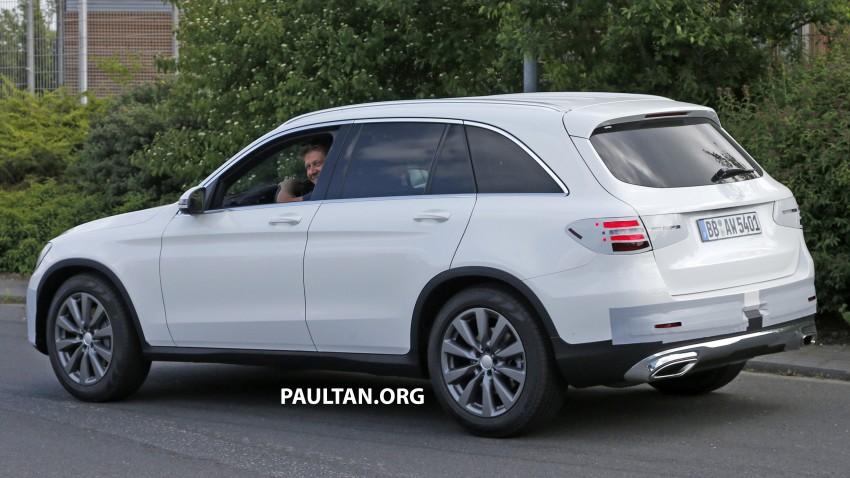 Mercedes-Benz GLC – sketch revealed, June 17 debut Image #350778