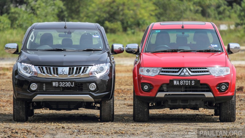 GALLERY: New and old Mitsubishi Triton, side-by-side Image #346558