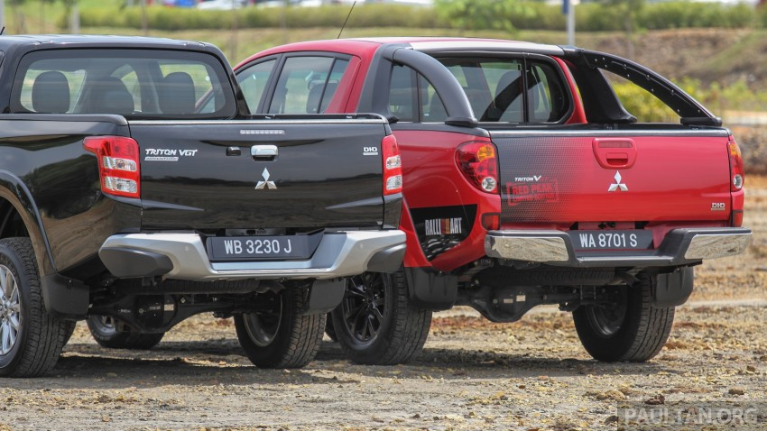 GALLERY: New and old Mitsubishi Triton, side-by-side Image #346567