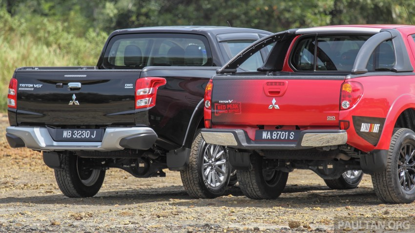 GALLERY: New and old Mitsubishi Triton, side-by-side Image #346568