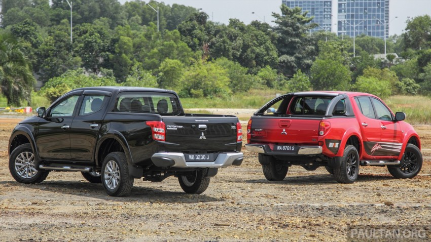 GALLERY: New and old Mitsubishi Triton, side-by-side Image #346569