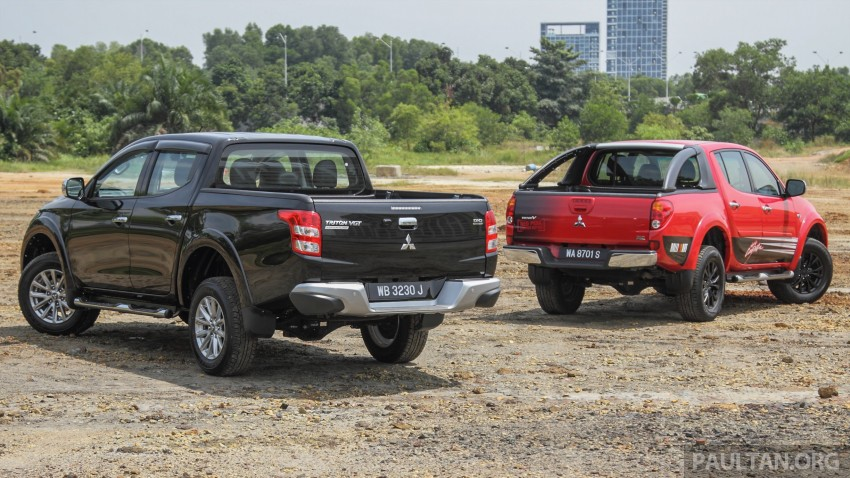 GALLERY: New and old Mitsubishi Triton, side-by-side Image #346570