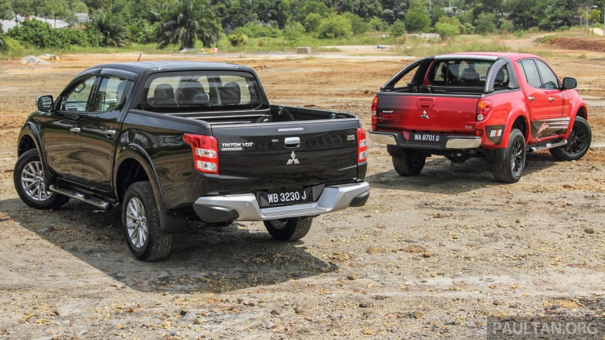 GALLERY: New and old Mitsubishi Triton, side-by-side Image #346571