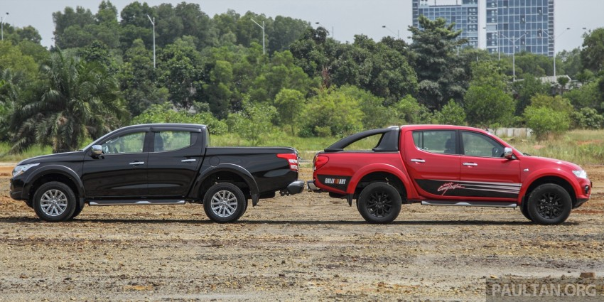 GALLERY: New and old Mitsubishi Triton, side-by-side Image #346572