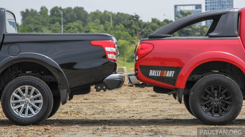 GALLERY: New and old Mitsubishi Triton, side-by-side Image #346573