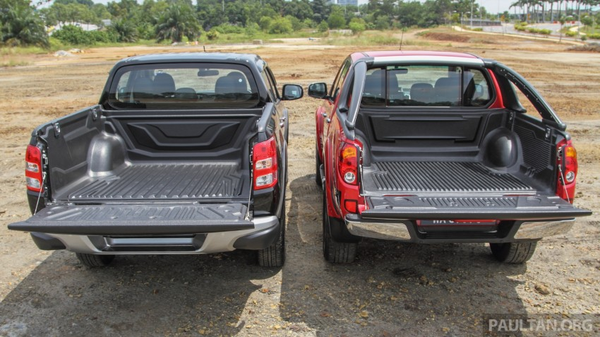 GALLERY: New and old Mitsubishi Triton, side-by-side Image #346574