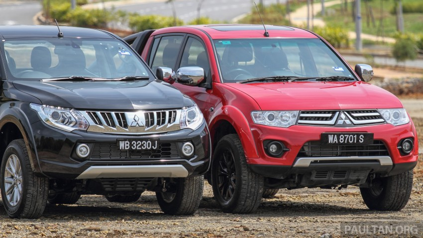 GALLERY: New and old Mitsubishi Triton, side-by-side Image #346559