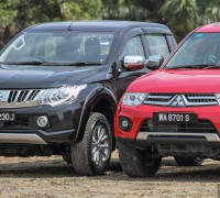 Mitsubishi Triton New vs Old 3