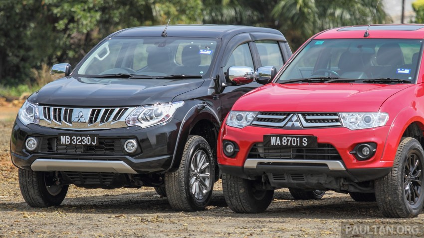 GALLERY: New and old Mitsubishi Triton, side-by-side Image #346560