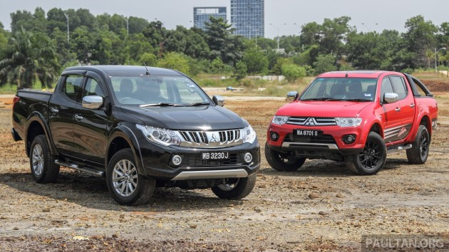 Mitsubishi Triton New vs Old 4