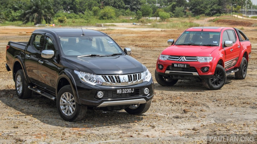 GALLERY: New and old Mitsubishi Triton, side-by-side Image #346562