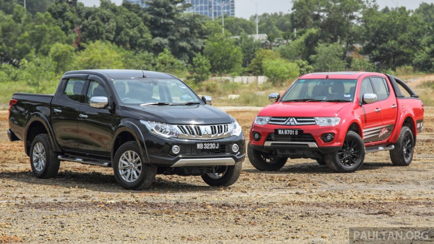 GALLERY: New and old Mitsubishi Triton, side-by-side Image #346563