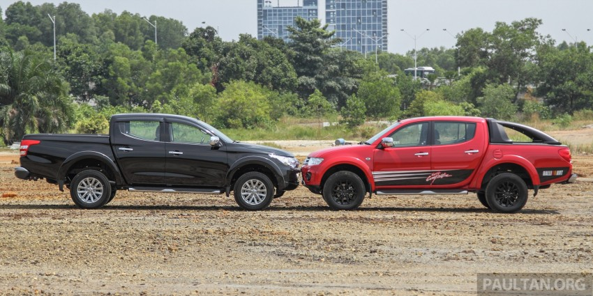 GALLERY: New and old Mitsubishi Triton, side-by-side Image #346564