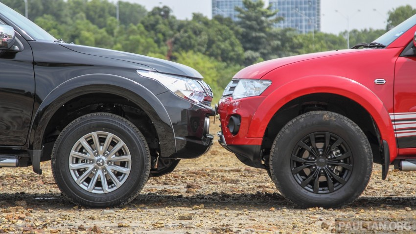 GALLERY: New and old Mitsubishi Triton, side-by-side Image #346565