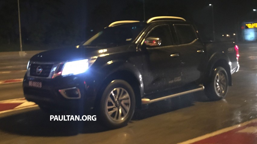 SPIED: Nissan NP300 Navara caught in Malaysia again! Image #346988