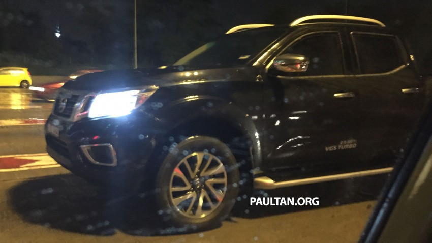 SPIED: Nissan NP300 Navara caught in Malaysia again! Image #346987