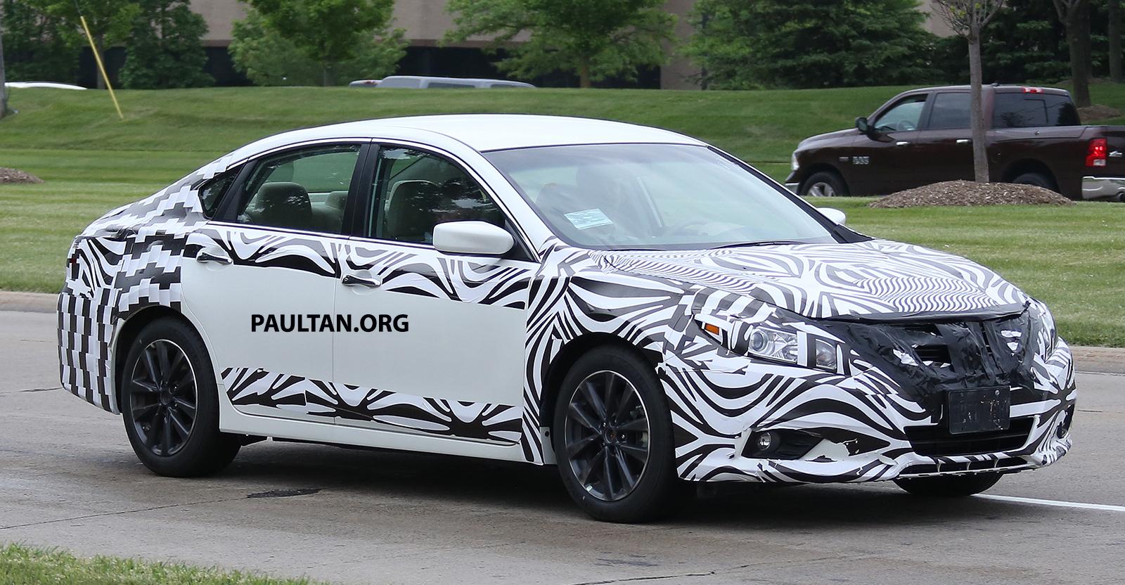 SPYSHOTS: 2016 Nissan Altima, Teana facelift spotted Paul ...