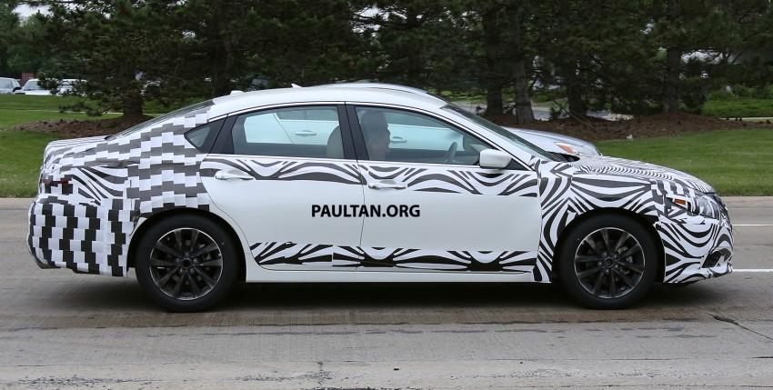 SPYSHOTS: 2016 Nissan Altima, Teana facelift spotted Image #350733