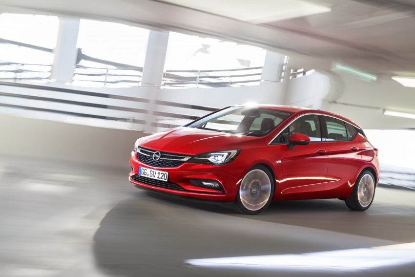 Opel/Vauxhall Astra K unveiled – up to 200 kg lighter Image #345300