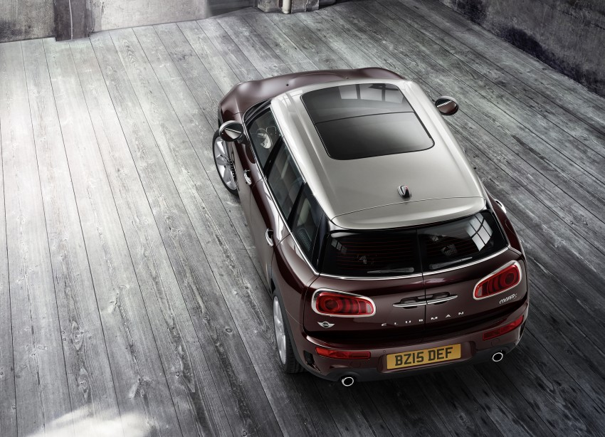 F54 MINI Clubman – second-gen debuts in Berlin Image #353928