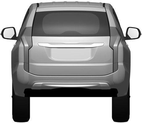 New Mitsubishi Pajero Sport revealed via patent filing Image #346262